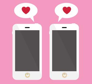 Online dating via mobile